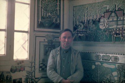 Eine Fotografie von Julius Klingebiel in seiner Zelle
