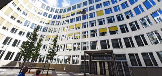 Der neue Innenhof der Bremer Landesbank. Foto: Schlie
