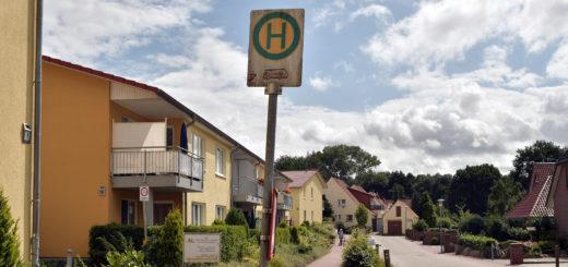 Soll mit der neuen Linie 223 wieder angefahren werden: Das DRK-Wohnheim an der Ellerbäke in Bookholzberg. Foto: Konczak