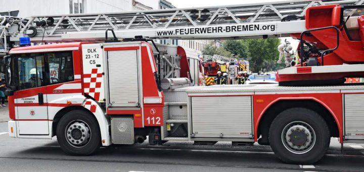 Feuerwehreinsatz Meyerstraße, Bremen, Symbolfoto/Schlie