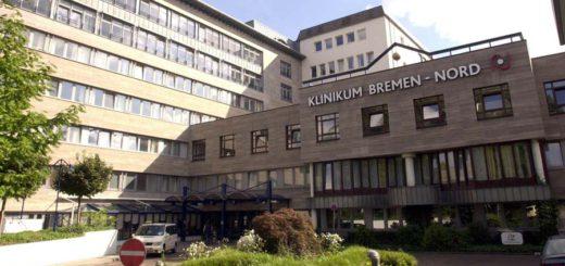 Klinikum Bremen-Nord: Hier trafen zwei Gruppen aufeinander. Foto: WR