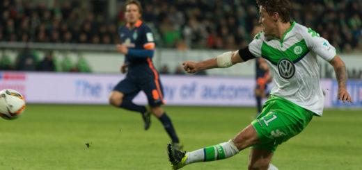 Max Kruse (r.) spielte bereits von 2006 bis 2009 bei Werder. Zuletzt war er bei Wolgsburg unter Vertrag. Foto: Nordphoto