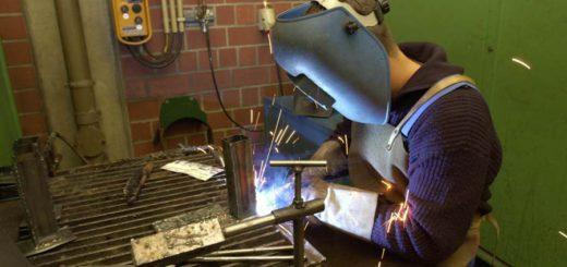 Schweisser bei der Arbeit: Die Zuwanderer sollen auf Werften gearbeitet haben. Symbolfoto: WR