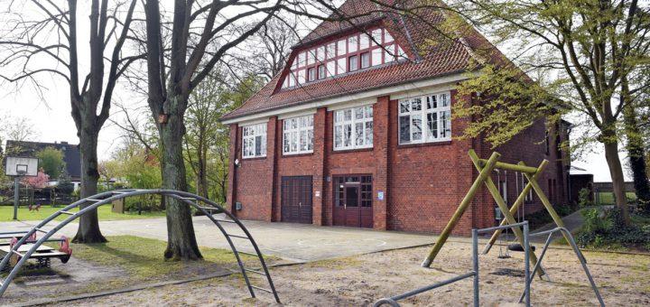 Die Schule in Strom ist auch von der Schließung bedroht. Foto: WR