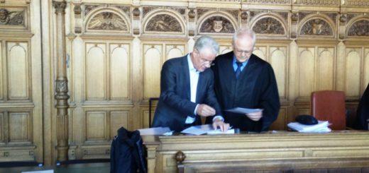 Am Freitag ging es im Harms-Prozess auch um das Smartphone von Hans Eulenbruch (l.) Foto: Niemann