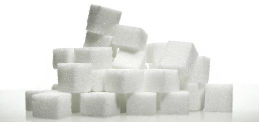 Zucker, in Würfeln gestapelt. Foto: pixabay