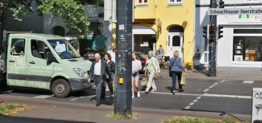 Die Signalanlage in Höhe Buchenstraße. Foto: Barth