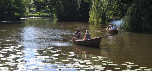Entspannt auf dem Wasser treiben – das hat schon viel Schönes bei den zu erwartenden 28 Grad.Foto: Schlie