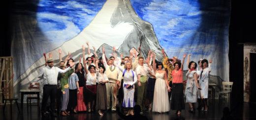 """Das städtische Orchester Delmenhorst, der Chor und das Ensemble der MSD boten am Freitag eine schwungvolle Aufführung der Operette """"Clivia"""" im Kleinen Haus.Foto: Eckert"""