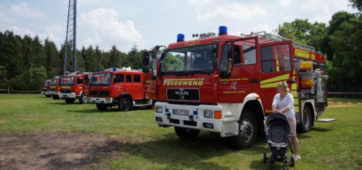 Der Fuhrpark der Achimer Feuerwehr ist am Sonntag, 25. September, auch zu sehen. Foto: Bruns