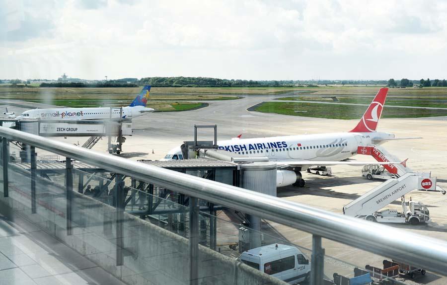 Airport Bremen Wochenflugplan
