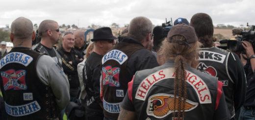 Treffen einer internationalen Rockergruppe. Foto: Roy Lister - Gypsy Joker Protest Run, CC BY 2.0