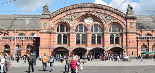Der Bremer Hauptbahnhof. Foto: Schlie