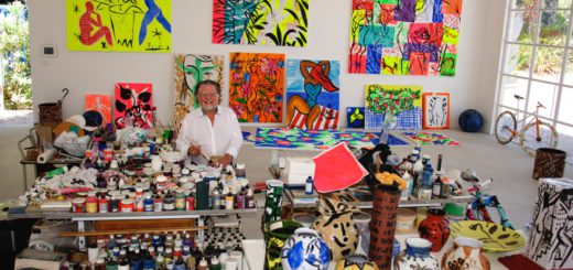 Stefan Szczesny in seinem Atelier. Foto: pv