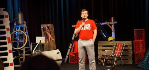 Der polnische Comedian Marek Fis erzählt die besten Polenwitze. Foto:pv