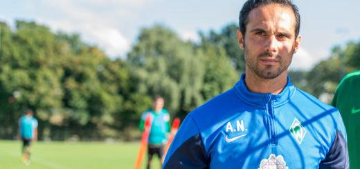 U23-Coach Alexander Nouri wird die Profi-Mannschaft auf das Spiel am Mittwoch gegen Mainz vorbereiten. Foto: Nordphoto
