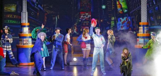 """""""New York ist der Traum aller Träume"""" – das Revue-artige Musical hat viel Gute-Laune-Potential.Foto: Barth"""