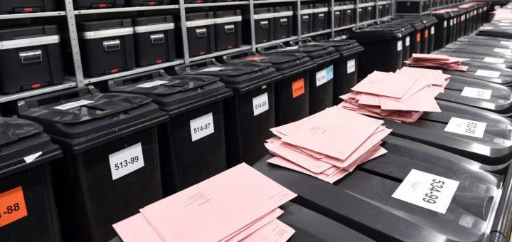 Die vorläufigen Ergebnisse der Wahlen im Landkreis liegen vor. Symbolfoto: WR