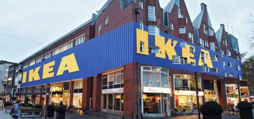 Die Montage zeigt, wie ein Innenstadt-Ikea in Bremen aussehen könnte. Foto: Schlie