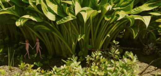 """Das Bild """"Stick Insect"""" ist Teil der Ausstellung """"Close to me"""" Foto: pv"""