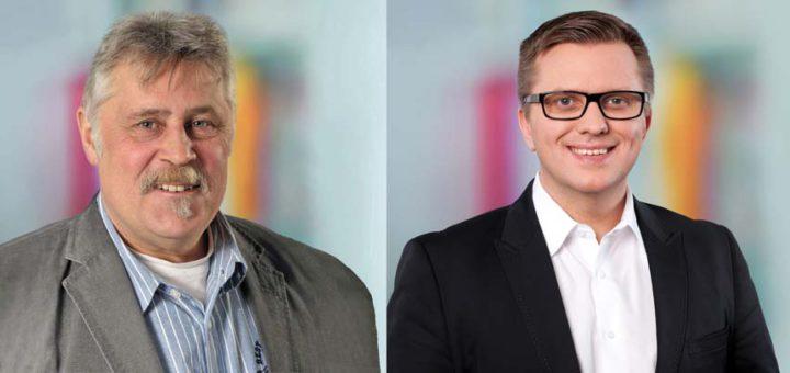 Thomas Plönnigs und Waldemar Seidler
