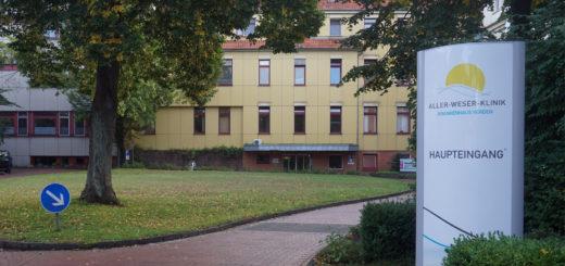 Auch in den Notaufnahmen der Aller-Weser-Klinik (hier Verden) im Landkreis kommen zunehmend mehr Patienten mit Bagatellerkrankungen an.Foto: Bruns