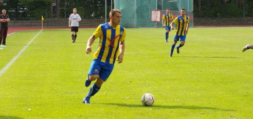 Dominik Entelmann erzielte für den SV Atlas alle drei Tore. Foto: Lürssen