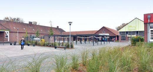 Die Eschhofsiedlung in Lemwerder hat einen Platz, der sowohl von Schülern als auch von Bewohnern genutzt werden soll. Foto: Konczak