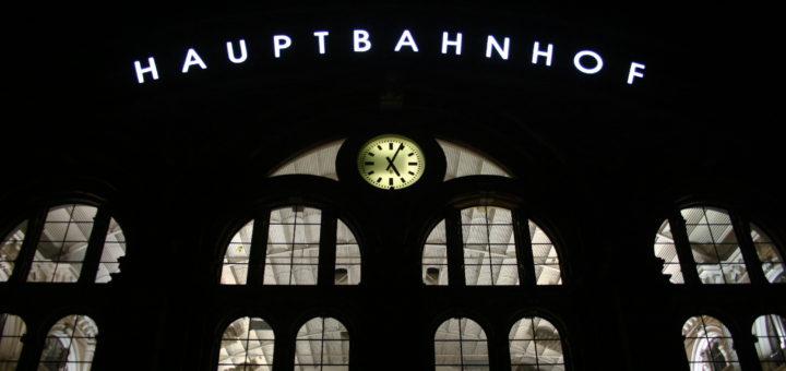 Früh morgens am Bremer Hauptbahnhof