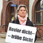 Jutta Strerath-Eichinger kritisiert als Sprecherin der Bürgerinitiative gegen Revierschließungen die Polizeireform harsch. Foto: Schlie