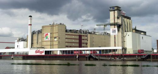 Das Kellogs-Werk an der Weser wird geschlossen. Foto: Schlie