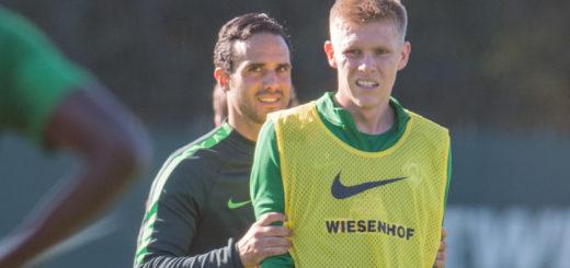 Werders neuer Cheftrainer Alexander Nouri verzichtete zuletzt auf Angreifer Aron Johannsson. Foto: Nordphoto