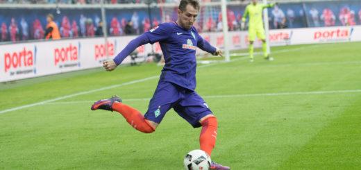 Izet Hajrovic war bis zu seiner Auswechslung in der 62. Minute ein Aktivposten für Werder. Foto: Nordphoto