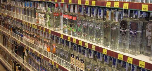 Die SPD will, dass Alkohol im Supermarkt nur in solchen Regalen verkauft wird, nicht mehr an der Kasse. Foto: wikimedia