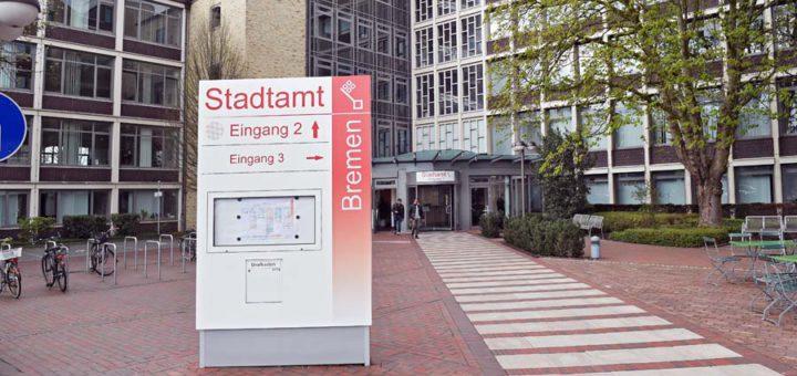 Mitte Oktober soll das neue Konzept für das Stadtamt stehen. Eine Möglichkeit wären Bürgerbüros in den Stadtteilen. Foto: WR