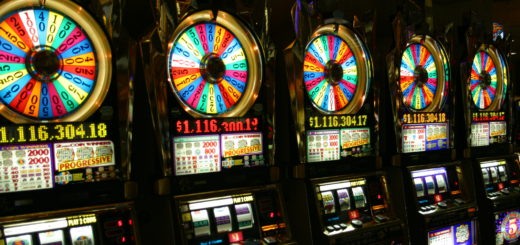 Slotmachines in Las Vegas. Foto: Pcb21 / Wikimedia