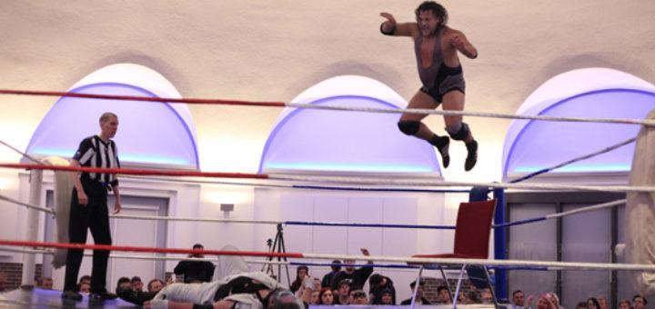 Wrestling in der Markthalle Delmenhorst.