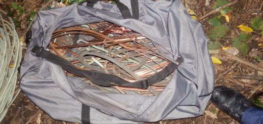 Die Kupferdiebe hatten versucht, dieses Altmetall zu stehlen. das die Polizei sicher stellen konnte. Foto: Bundespolizei Bremen