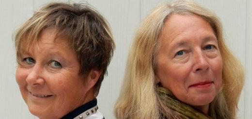 """Dr. Liliane Skalecki und Biggi Rist haben gemeinsam den Krimi """"Rabenfraß"""" geschrieben.Foto: pv"""