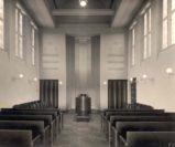 Die Innenaufnahme des Kapellenraumes zeigt seine ursprüngliche Gestaltung. Foto: Stadtarchiv Delmenhorst