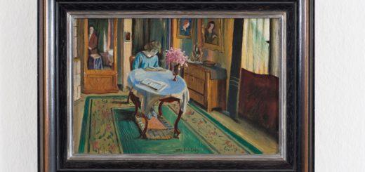 Fritz Stuckenberg malte Hermine David 1909 als lesende Frau. Foto: Jens Weyers
