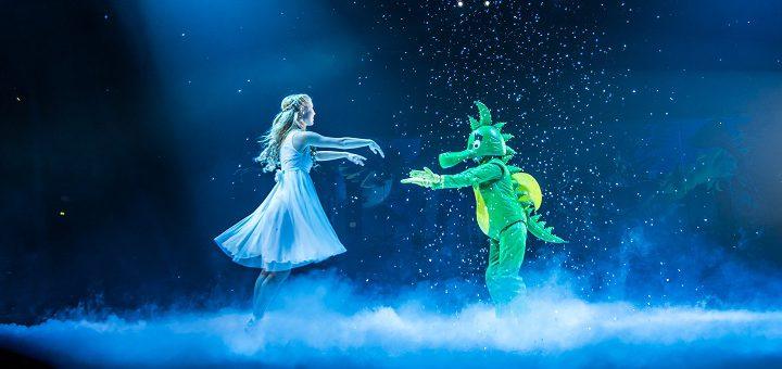 Mit einer spektakulären Showbühne kommt die neue Tabaluga-Show Anfang Dezember in die Bremer ÖVB-Arena. Fotos: Lamann