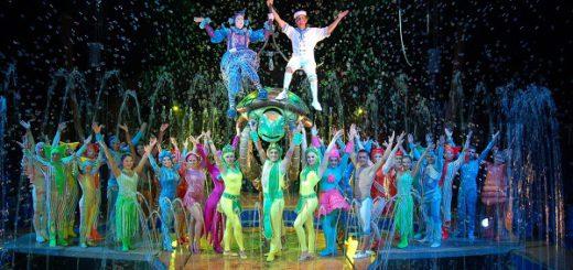 Der Circo Aquatico gastiert noch bis zum 11. Dezember auf der Bürgerweide. Foto: pv