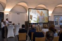 Vito Mandurino ist einer der Protagonisten im neuen Imagefilm von Delmenhorst. Der Clip wurde gestern in der Markthalle vorgestellt.Foto: Konczak