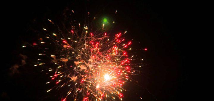 Feuerwerk Lesli Prezident Piro.Foto: pv