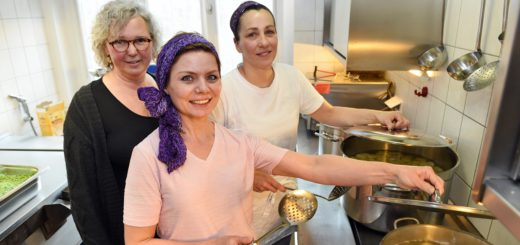 In der Küche der Kita Hohentor wird jetzt Bio gekocht. Foto: Schlie
