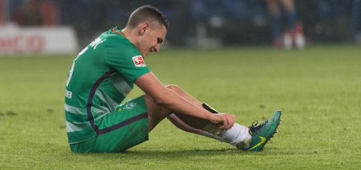 Auch Werders junger Innenverteidiger Milos Veljkovic gab beim Nordderby in Hamburg keine gute Figur ab. Foto: Nordphoto