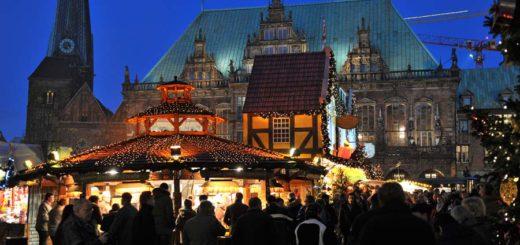 Der Bremer Weihnachtsmarkt zieht Tausende Besucher jeden Abend an. Foto: Schlie