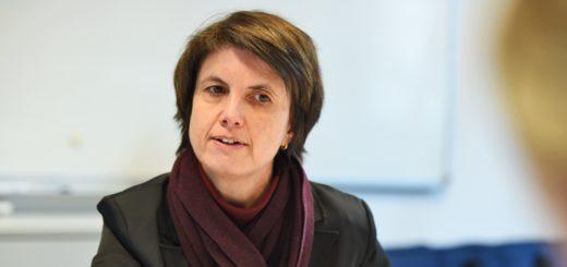 Martina Baden ist seit 2012 Geschäftsführerin der Bremer Bäder. Foto: Schlie