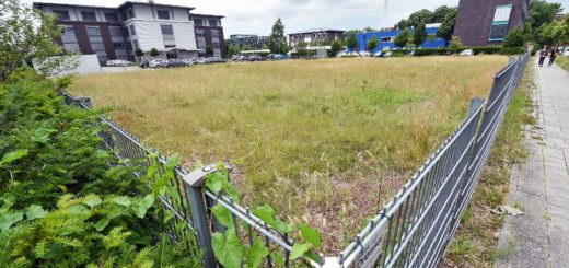 Auf diesem Grundstück soll das Wohnheim entstehen. Foto: WR